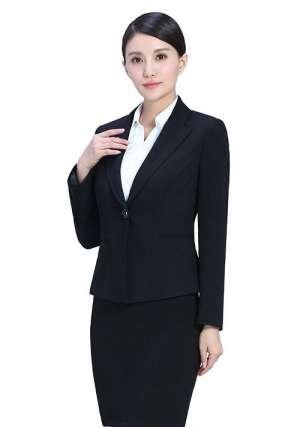 黑色职业裙装