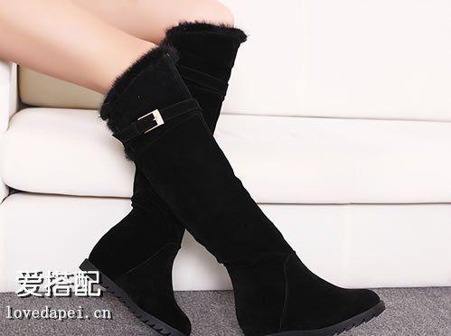 长筒靴帮你打造小细腿