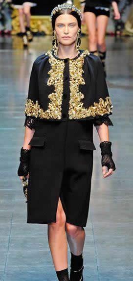 Dolce & Gabbana性感巴洛克
